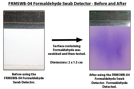 FRMSWB-04 Formaldehyde Swab Detectors
