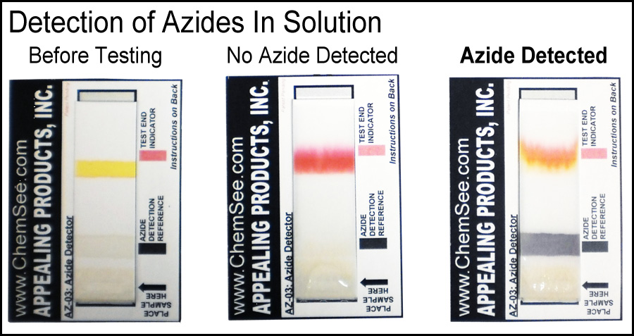 Detection of Azides in Solution