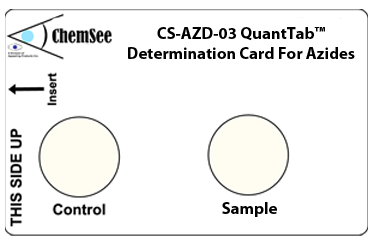 Azide Detector for Neutral Solutions